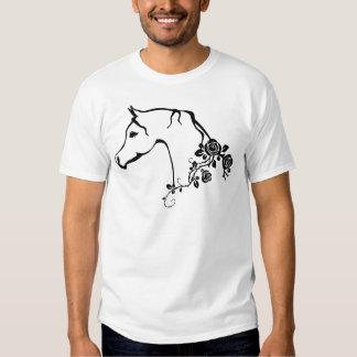 Cavalo árabe tshirts