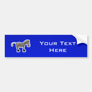 Cavalo bonito; Azul Adesivos