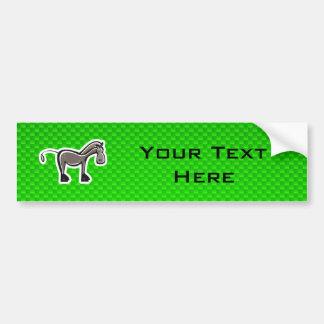 Cavalo bonito; Verde Adesivos
