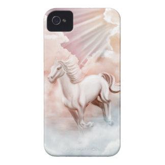 Cavalo branco que funciona no céu capinhas iPhone 4