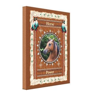 Cavalo - canvas do Poder