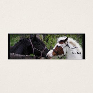 Cavalo Cartão De Visitas Mini
