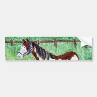 Cavalo da pintura de Levi Adesivo