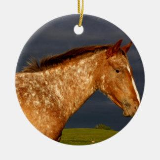 Cavalo da pradaria ornamento de cerâmica
