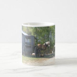 Cavalo de Amish Caneca De Café