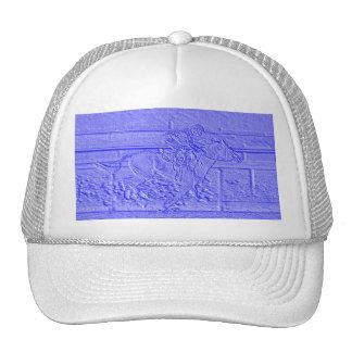 Cavalo de corrida Pastel do puro-sangue dos azuis  Boné