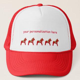 Cavalo de Dala a personalizar ou personalizar Boné