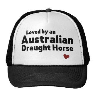 Cavalo de esboço australiano boné