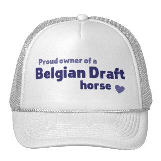 Cavalo de esboço belga boné
