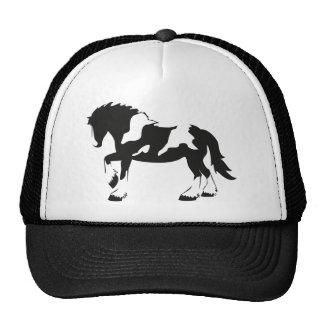 Cavalo de esboço manchado boné
