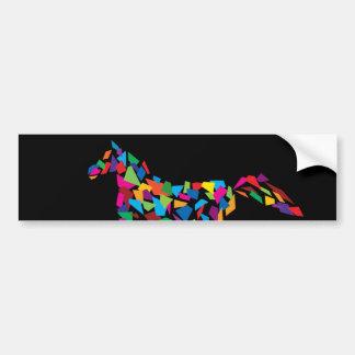 Cavalo de galope adesivo