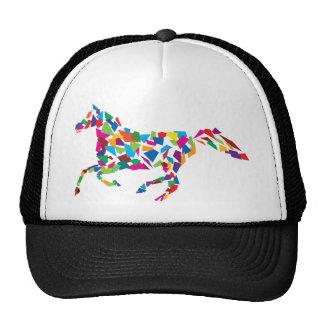 Cavalo de galope bonés