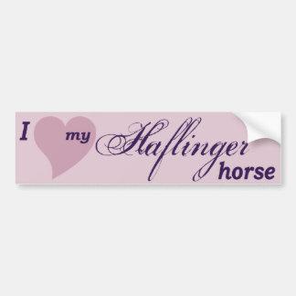 Cavalo de Haflinger Adesivo Para Carro