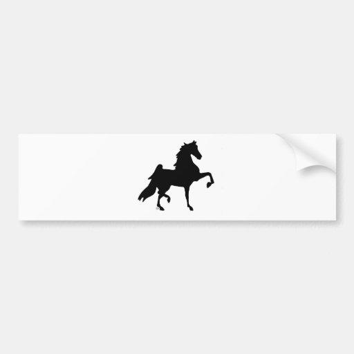 Cavalo de Saddlebred do americano Adesivo
