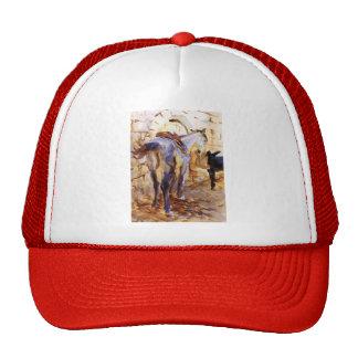 Cavalo de sela de Sargent- do cantor de John, Pale Bonés