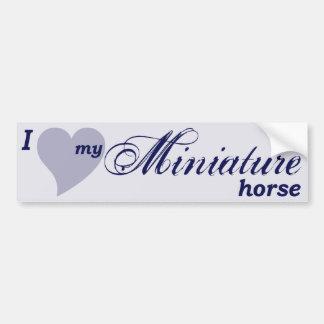 Cavalo diminuto adesivo para carro