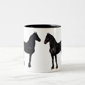 Cavalo do campeão caneca dois tons
