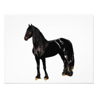 Cavalo do campeão convites personalizados
