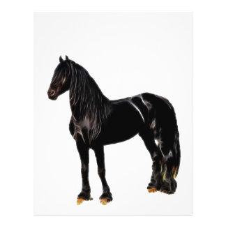 Cavalo do campeão panfleto