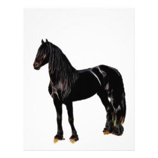 Cavalo do campeão modelos de papel de carta