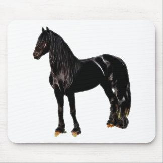 Cavalo do campeão mouse pads