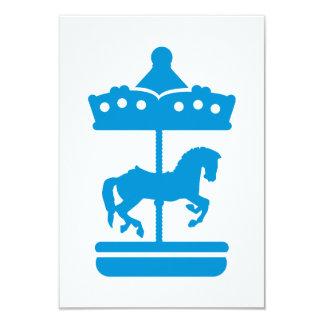 Cavalo do carrossel convites