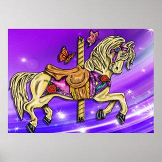 Cavalo do carrossel poster