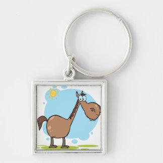 Cavalo do personagem de desenho animado chaveiros