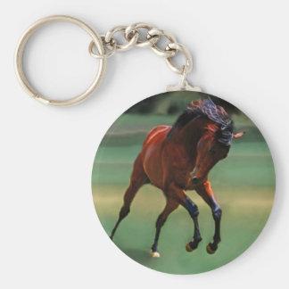 Cavalo do rodeio para o vaqueiro chaveiro