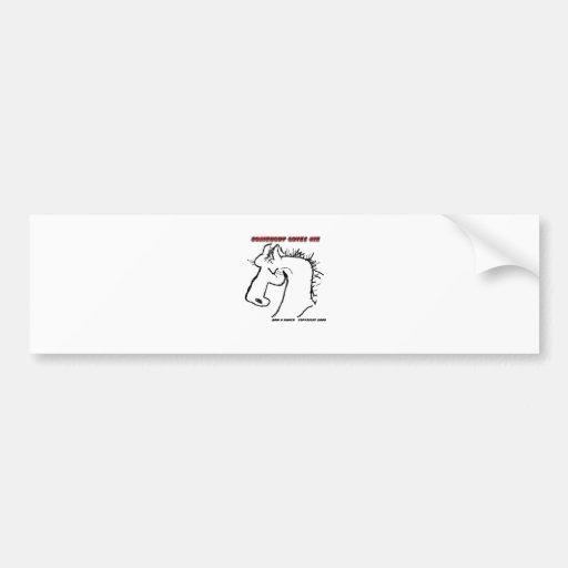 Cavalo dos desenhos animados: Alguém ama-me Adesivo