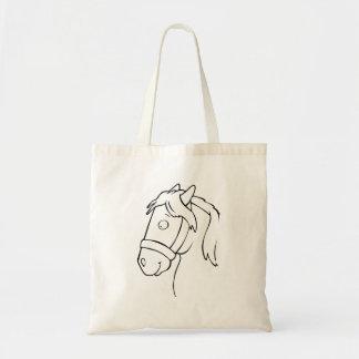 Cavalo dos desenhos animados