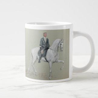 Cavalo e caneca do cavaleiro