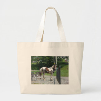 Cavalo e carrinho bolsa para compras