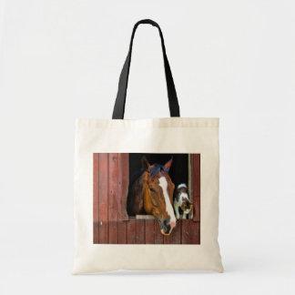 Cavalo e gato bolsas