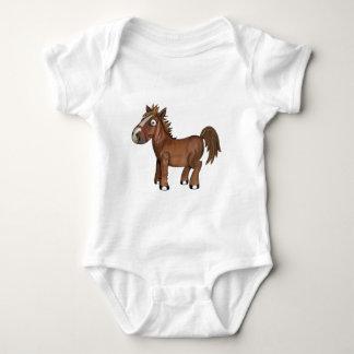 Cavalo engraçado AVAL Body Para Bebê