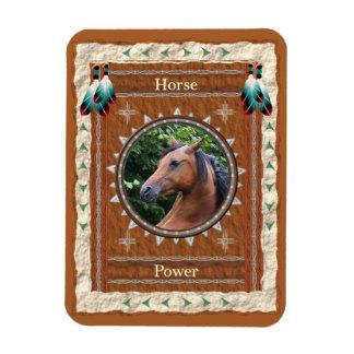 Cavalo - ímã de Flexi do vinil do Poder
