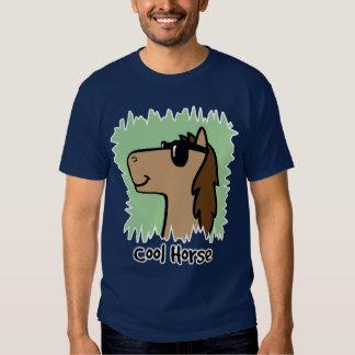 Cavalo legal do clipart dos desenhos animados que camisetas