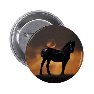 Cavalo majestoso pins