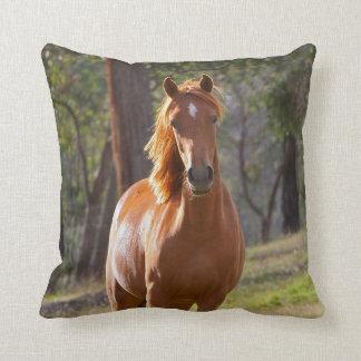Cavalo nas madeiras almofada