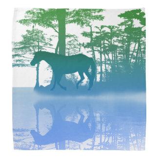 Cavalo no Bandana crepuscular