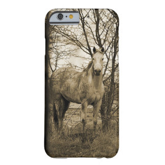 Cavalo no selvagem capa barely there para iPhone 6