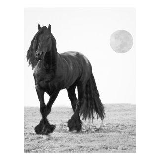 Cavalo perfeito papel de carta