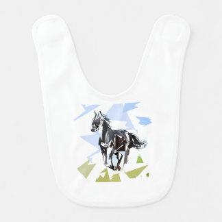 Cavalo preto babador