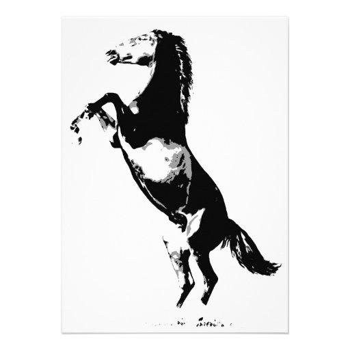 Cavalo que eleva o convite