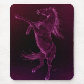 Cavalo roxo Mousepad do frisão