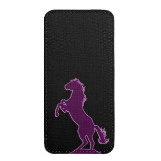 Cavalo selvagem bolsa de celular