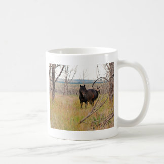 cavalo selvagem em Mesa Verde Caneca De Café