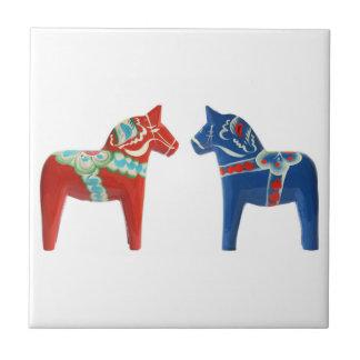 Cavalo vermelho & azul de Dala