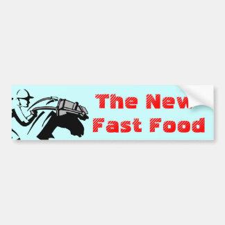 Cavalos da chacina do cavalo de raça do fast food  adesivos