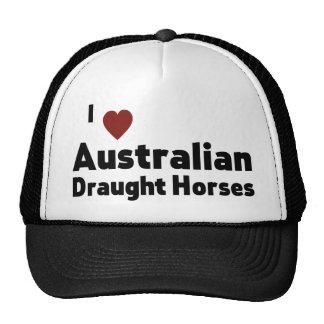 Cavalos de esboço australianos boné